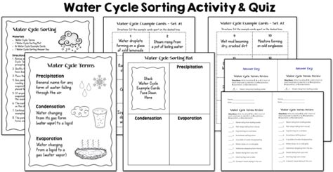 water cycle 2nd grade worksheet worksheets for all