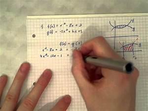 Fläche Zwischen Zwei Graphen Berechnen : berechnung der fl che zwischen zwei graphen youtube ~ Themetempest.com Abrechnung