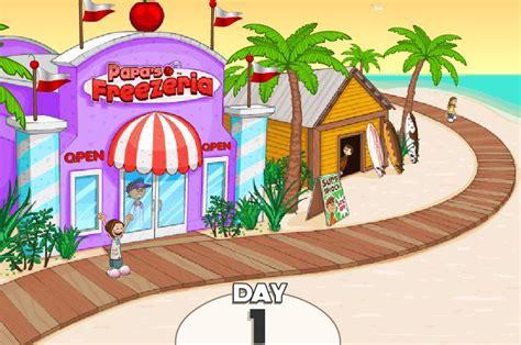 jeux de cuisine gratuit sur jeux info papa 39 s freezeria sur jeux fille gratuit