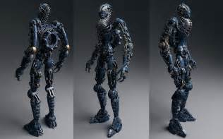 Future Robot Concept Art
