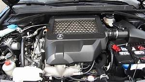 2007 Acura Rdx  Black - Stock  12488p - Engine