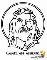 Coloring Bible Jesus Lord Rock Ages Hosts Yescoloring Colouring Easter Faithful Boys sketch template