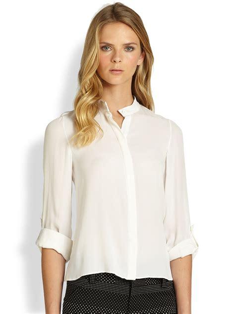 blouson blouse 31 beautiful womens blouses with collars sobatapk com