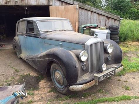 1951 Bentley MK6 by Freestone and Webb SOLD   Car And Classic