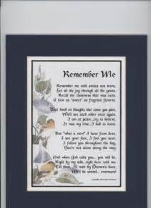 Sympathy Bereavement Poems