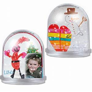 Boule De Neige Noel : boule neige de no l no l sur t te modeler ~ Zukunftsfamilie.com Idées de Décoration