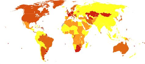 fileeating disorders world map deaths  million persons