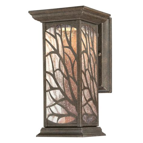 laurel designs outdoor wall light weathered iron meideas