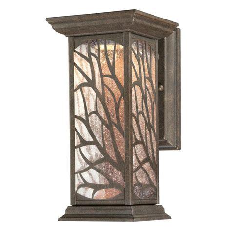 laurel designs outdoor wall light weathered iron meideas