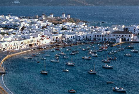 Mykonos Island In Greece Thousand Wonders