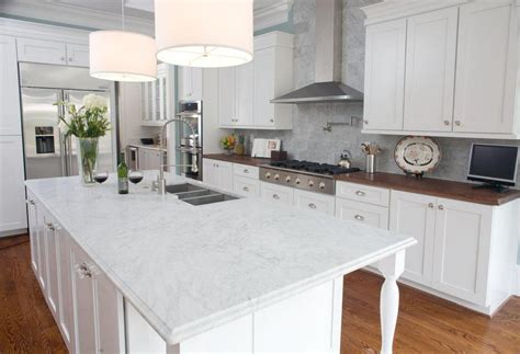 pictures  gorgeous marble kitchens