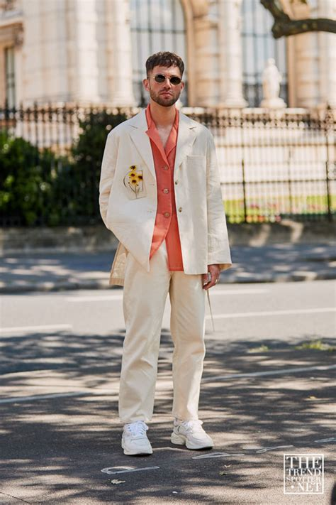 street style  paris mens fashion week ss