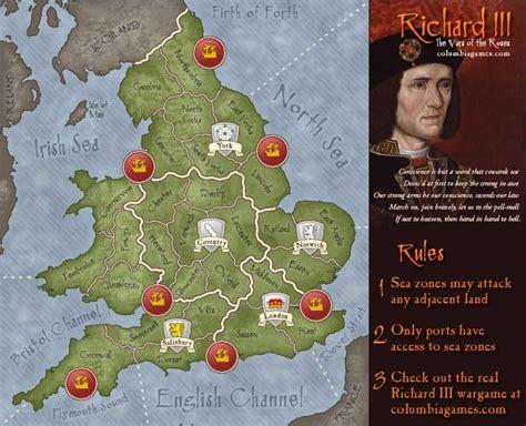 richard iii map