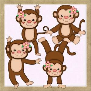 Female Monkey Clipart - Clipart Suggest