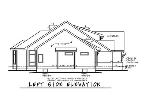 House Plan 80423 Ranch Style with 1925 Sq Ft 3 Bed 2