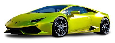 lamborghini huracan green car png image pngpix