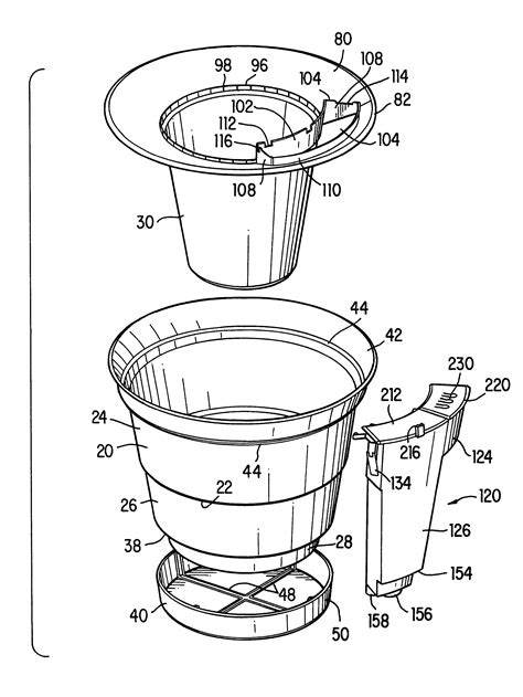 Patent US6345470 - Self-contained automatic watering