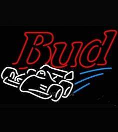 Bud Light Panthers Pride Neon Beer Sign