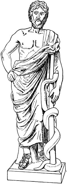 black hera dress the rod of asclepius and the caduceus ferrebeekeeper