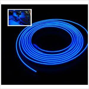 Neon Led 12v : 2m 12v el wire blue cold light lamp neon lamp car atmosphere lights unique decor ebay ~ Medecine-chirurgie-esthetiques.com Avis de Voitures