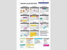 Calendario 20182019 Publicador de contenidos
