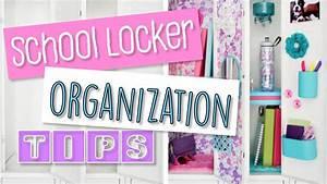 How To Organize Your School Locker Storage And Decor