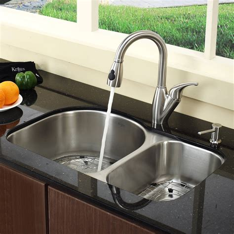 pictures of kitchen sinks and faucets undermount kitchen sink and faucet combo 9113