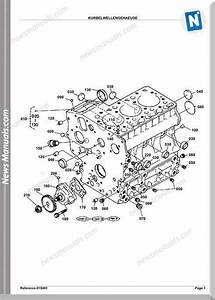 Kubota Engine Kh36h Parts Manuals