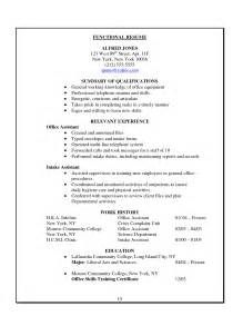 resume for clerical work sle clerical assistant resume sales assistant lewesmr