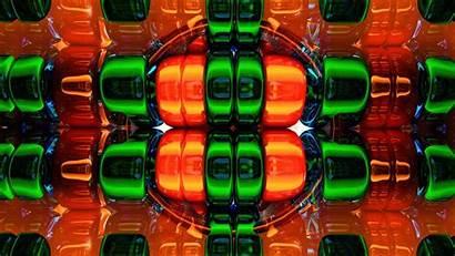 Colorful 3d Structure Volume Shape