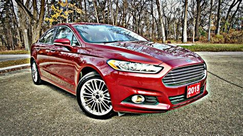2016 Ford Fusion Se Luxury Review