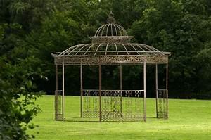 Pavillon Garten Metall : luxus pavillon romantik rund metall pavillion garten laube pergola neu rankhilfe ebay ~ Sanjose-hotels-ca.com Haus und Dekorationen