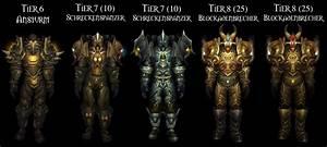 Wow  Krieger Tier 1 Bis Tier 13 Sets Im  U00dcberblick