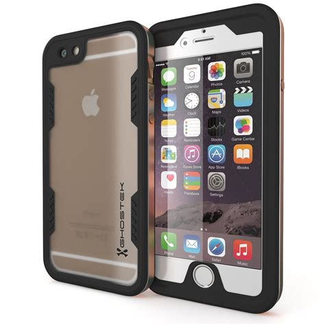 iphone 6 sc iphone 6 waterproof ghostek atomic 2 0 gold apple w