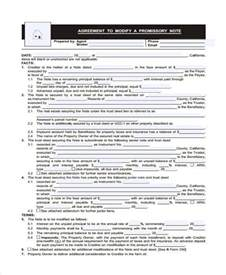 Promissory Note Agreement Form
