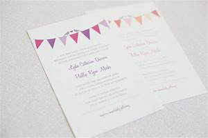 bunting do it yourself wedding invitations With free printable wedding invitations bunting