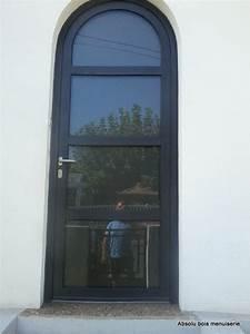 portes d39entrees bois With porte d entrée cintrée aluminium