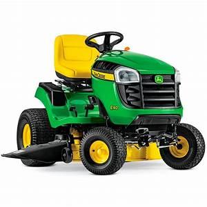 John Deere E140 Lawn Tractor Maintenance Guide  U0026 Parts List
