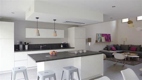 deco cuisine ouverte sur salon deco peinture cuisine ouverte sur salon cuisine idées