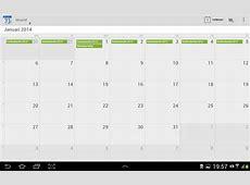 Android tablets Feestdagen Belgie toevoegen en
