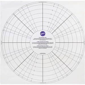 Cake Dividing Chart Wilton