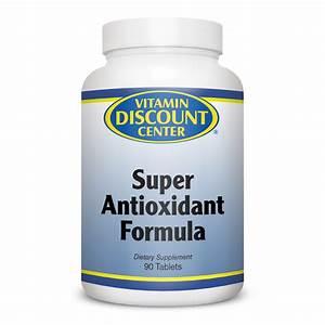 Super Antioxidant Formula By Vitamin Discount Center 90 Tablets