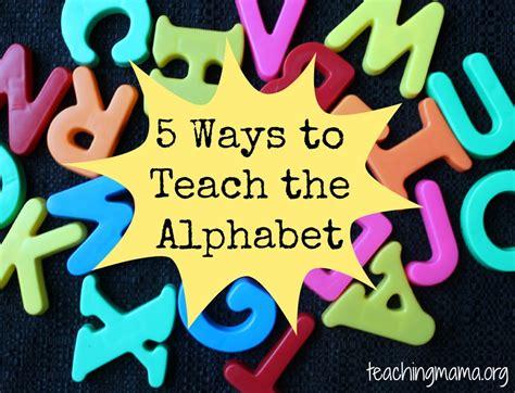 5 ways to teach the alphabet teaching 958 | 5 Ways to Teach Alphabet 1024x784