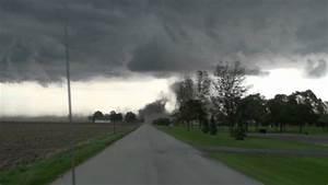 Tornado Forming In Kentland Indiana