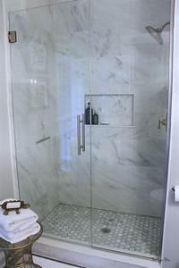 How, To, Create, A, Neutral, Glam, Basement, Bathroom
