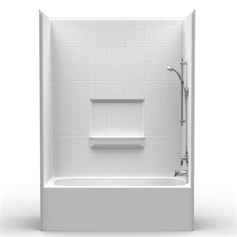 3 Tub Shower Combo by Multi 60 Quot X 30 Quot X 85 Quot Tub Shower Combo 17 Curb