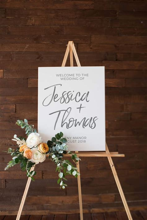 The 25 Best Ideas About Wedding Welcome Signs On