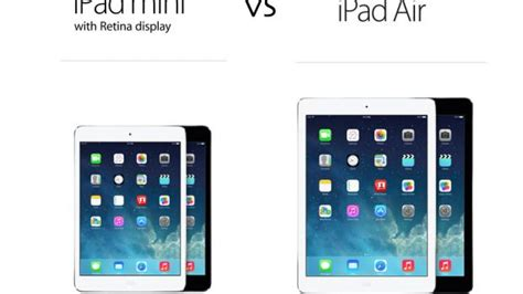 Ipad Air Vs. Ipad Mini 2