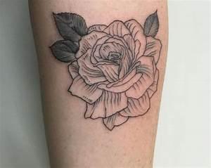 Tattoo Motive Rose Schwarz Weiß Rosen Schwarz Wei Wassertropfen Arm