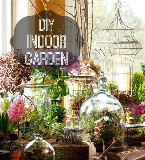 how to diy and indoor garden